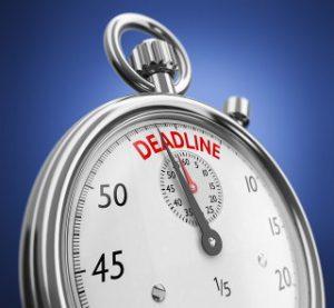 picture of deadline stopwatch
